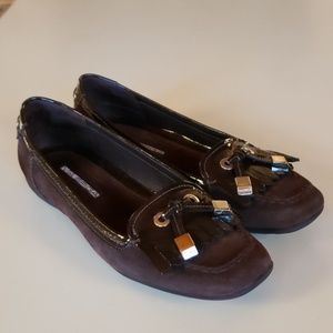Via Spiga Brown Avena Loafer
